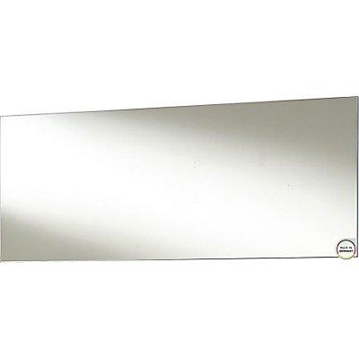 Certeo Spiegel  HxBxT 580 x 1450 x 30 mm, weiß