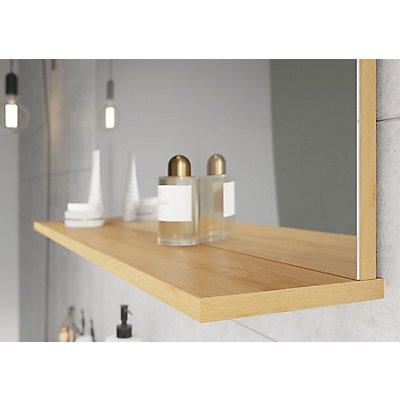 Certeo GW-Pescara Spiegel | HxBxT 75 x 76 x 15 cm | Navarra-Eiche