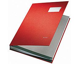 Leitz Unterschriftsmappe 57000085 DIN A4 20Fächer Graupappe grau
