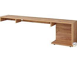 Sideboard  HxBxT 510 x 1850 x 370 mm, navarra-eiche