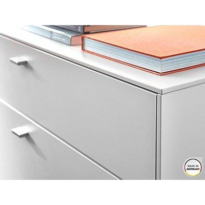 """Germania Lowboard """"DESIGN2"""" HxBxT 650 x 1670 x 440 mm, weiß/navarra-eiche"""