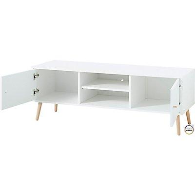 """Certeo Lowboard """"GW-Senja"""" HxBxT 510 x 1290 x 400 mm, weiß"""