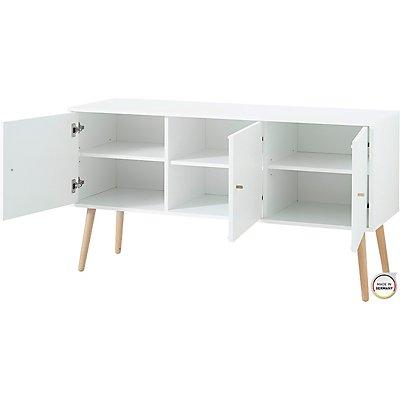 "Certeo Kommode ""GW-Senja"" HxBxT 760 x 1290 x 400 mm, weiß"