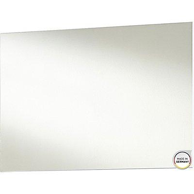 "Certeo Spiegel ""GW-Inside"" HxBxT 580 x 800 x 30 mm, weiß"