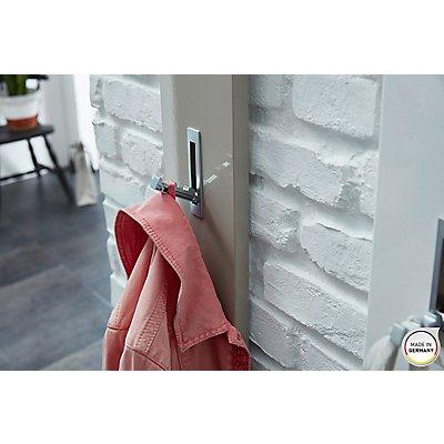 Garderobenpaneel mit ausklappbaren Kleiderhaken Colorado HxBxT 1700 x 150 x 40 mm