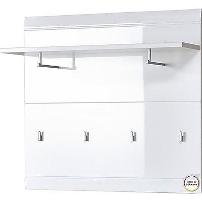 """Certeo Garderobenpaneel """"GW-ADANA"""" HxBxT 900 x 960 x 300 mm, weiß"""