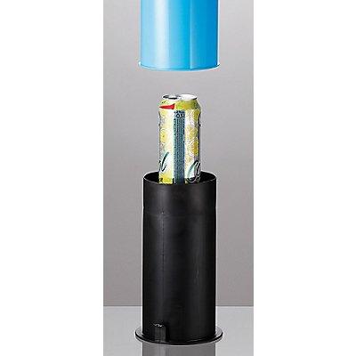 Presse für PET-Flaschen und Blechdosen   Blau-Schwarz   Certeo