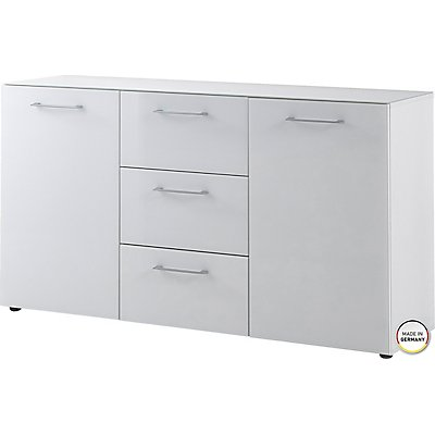 "Certeo Sideboard ""GW-Scalea"" HxBxT 800 x 1450 x 400 mm, weiß"