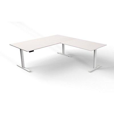 Kerkmann Sitz- und Stehtisch mit Anbau | Elektrisch höhenverstellbar