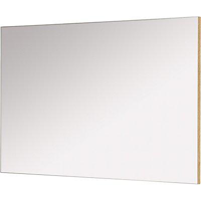"""Certeo Spiegel """"Dublin"""" HxBxT 600 x 940 x 30 mm, weiß/navarra-eiche"""