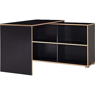 Certeo GW-Slide Schreibtisch | HxBxT 76 x 120 x 120 cm