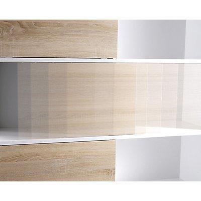 Porto Schiebetürregal | HxBxT 119 x 120 x 35 cm