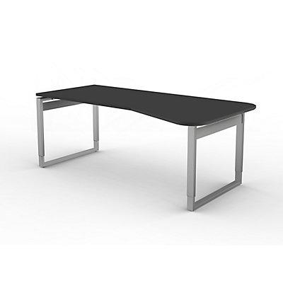 Kerkmann höhenverstellbarer Freiformtisch mit Bügelgestell