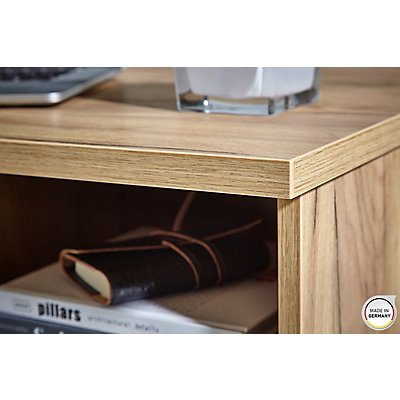 Germania Schreibtisch HxBxT 750 x 1450 x 700 mm, navarra-eiche