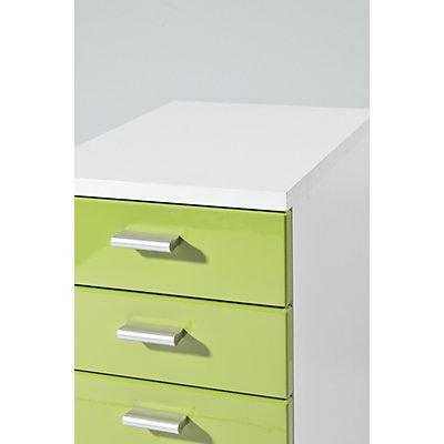 Certeo Rollcontainer | HxBxT 57 x 28 x 40 cm