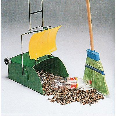 Fahrbarer Reinigungswagen POCKER | Volumen 15 l | Grün-Gelb | Certeo