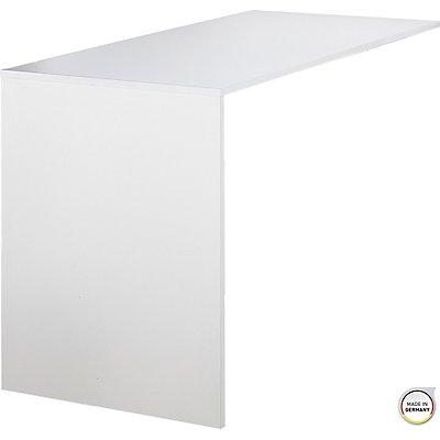 """Certeo Anbautisch """"GW-ALTINO"""" HxBxT 750 x 1200 x 600 mm, weiß"""