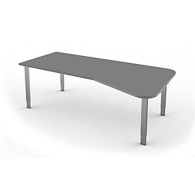 Kerkmann höhenverstellbarer Freiformtisch mit Vier-Bein-Gestell