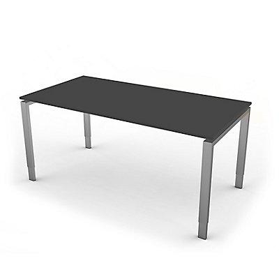 Kerkmann höhenverstellbarer Schreibtisch mit Vierbein-Gestell