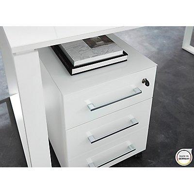 """Germania Rollcontainer""""GW-Monteria"""" HxBxT 550 x 400 x 500 mm, weiß"""