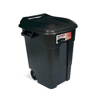 Tayg Wertstofftonne aus Kunststoff, fahrbar - Volumen 100 Liter