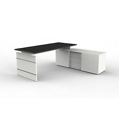 Kerkmann Komplettarbeitsplatz | Schreibtisch mit Sideboard
