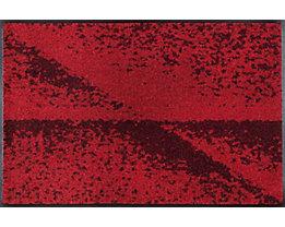 Design Eingangsteppich Red Shadow - von wash and dry