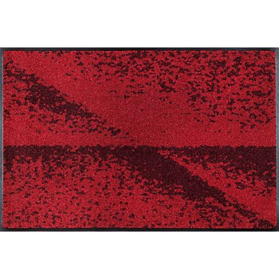 Design Eingangsteppich Red Shadow - von wash and dry