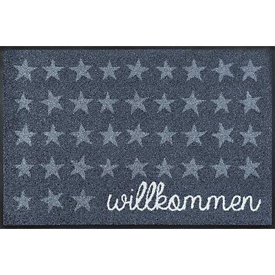 Türmatte Willkommen von wash and dry - 50x75 cm, waschbar