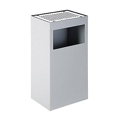 Abfallsammler ALFA | mit Edelstahl-Aschenbecher | Certeo