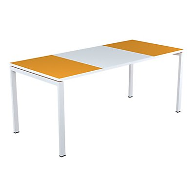 Schreibtisch EasyDesk von Paperflow - Tischplatte 1600 x 800 mm