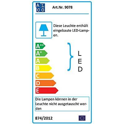 LED-Tischleuchte silber - 6,8 Watt - LED-Tischleuchte silber
