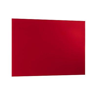 Magnetische Glastafel 400 x 600 mm - inkl. Stift und Würfelmagnete