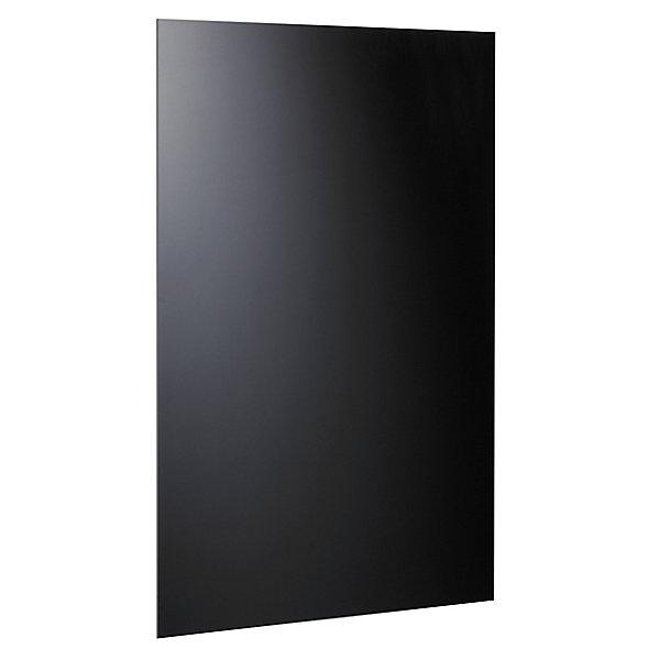 Image of Alco Magnetische Glastafel 1000 x 650 mm - inkl. Stift und Würfelmagnete - schwarz