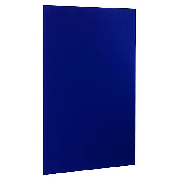 Image of Alco Magnetische Glastafel 1000 x 650 mm - inkl. Stift und Würfelmagnete - blau