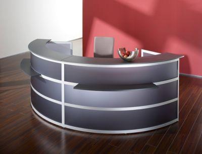 Tools Grundtheke - rund, Tischplatte Anthrazit