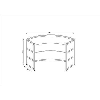 Tools Grundtheke - rund, Tischplatte Buche