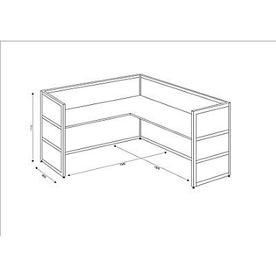 Tools Ecktheke - Tischplatte Buche