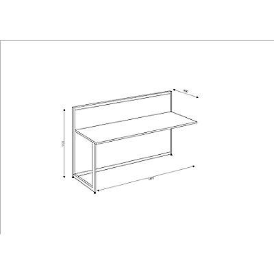 Tools Anbautheke - gerade, Tischplatte Anthrazit