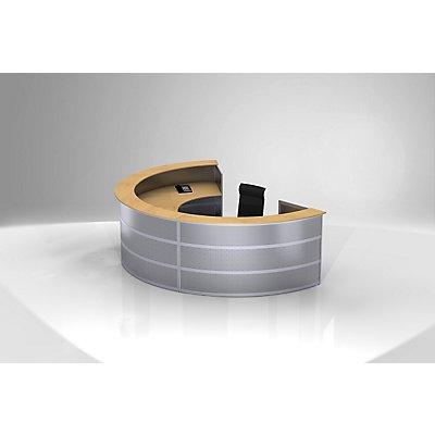 Tools Anbautheke - rund, Tischplatte Buche