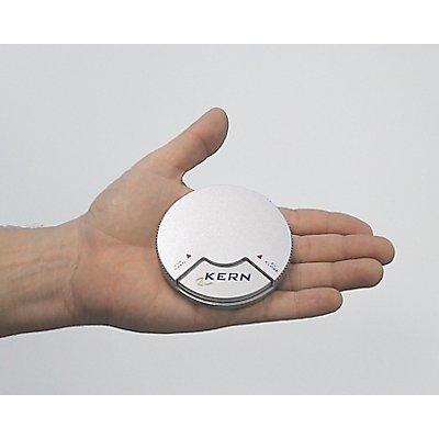 Kern & Sohn Taschenwaage - rund, mit Transportbox und Wägegefäß - Taschenwaage