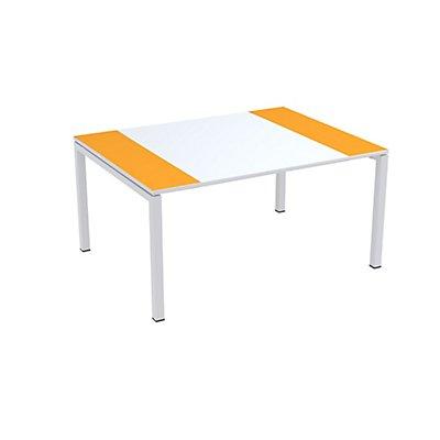 Besprechungstisch EasyDesk von Paperflow - Tischplatte 1500 x 1160 mm