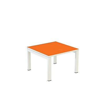 Beistelltisch EasyDesk von Paperflow - Tischplatte 600 x 600 mm