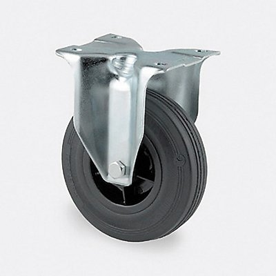 Rad mit Kunststofffelge | feststehend | Certeo