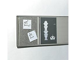 Tableau en feutre Filz pour système Q-Up Big - format A4 - Tableau en feutre Filz pour système Q-Up Big