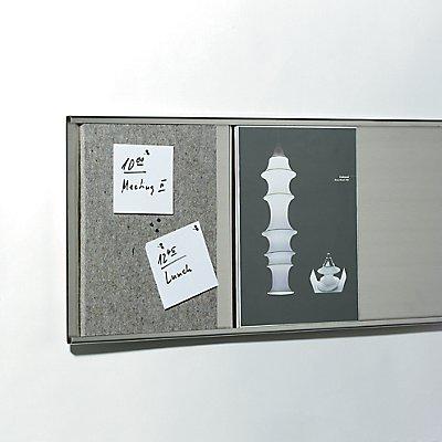 Filz-Pinnwand für Präsentationssystem Q-Up Big - im DIN A4 Format - Filz-Pinnwand für Q-Up
