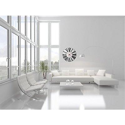 Design-Wanduhr II - von Oliver Hemming – Zifferblatt weiß - groß