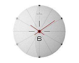 Horloge murale design III - Design Oliver Hemming, cadran blanc