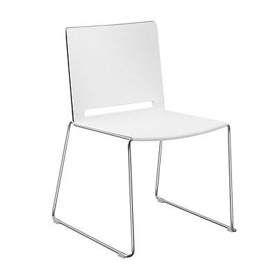 FRIWA Stuhl mit Kufen - ohne Armlehne