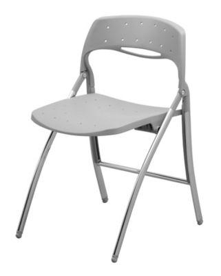 Klappstuhl - mit verchromtem Gestell